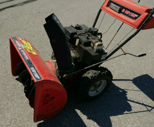 Snow blower, 26 inch direct drive, 6 Speed, electric start
