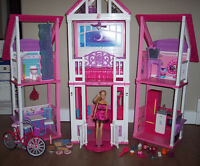Barbie and her Dream House