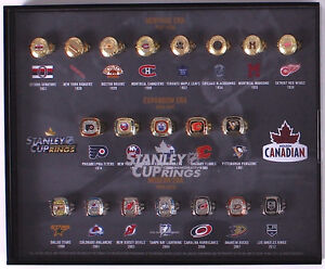 Molson Stanley Cup NHL Rings