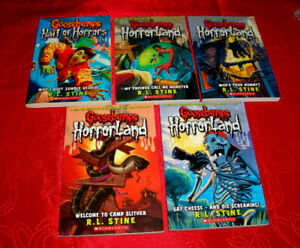 Goosebumps Horrorland Scholastic Books New Condition
