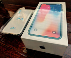 Brand new unopened - iPhone X 64GB Space Grey (Case included)