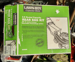 "rear bag kit for 21"" staggered wheel Lawnboy lawnmower"