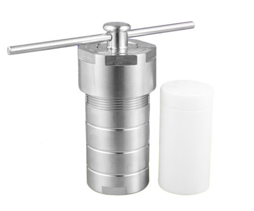 Lab 25mL Hydrothermal Synthesis Autoclave Reactor Teflon Lined (PTFE)
