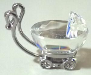 Swarovski Crystal Baby Carriage / Pram