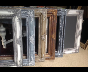 Hand painted frames