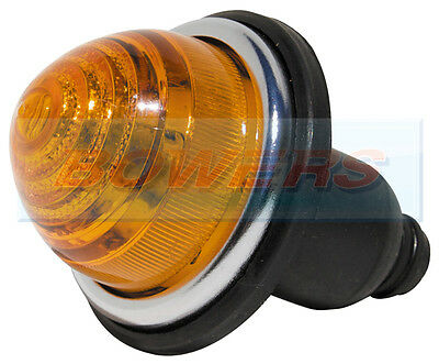 FRONT / REAR AMBER INDICATOR LAMP LIGHT CLASSIC MINI LAND ROVER AS LUCAS L594