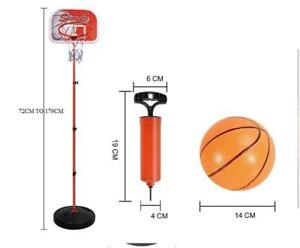 Adjustable Basketball Stand & Hoop Set (179CM X 37.5CM) -Ship Accross Canada