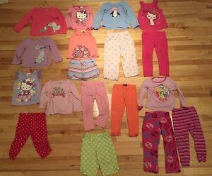 Lots de vêtements fille 3-4 ans