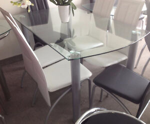 Table only,Kitchen 5pc SET,Dining Set-1table+4 chairs,New
