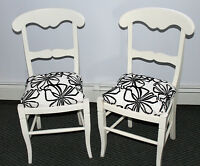 SHABBY CHIC STYLE CHAIRS