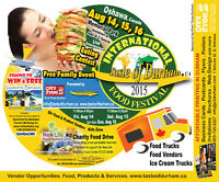 Vendors wanted for food festival & business expo 2015