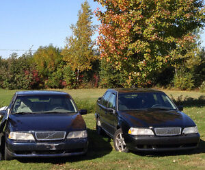 3 volvos disponibles-850GTL 1994, S70T5 turbo 2000, S70  1998