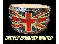 MALE DRUMMER REQUIRED FOR BRITPOP TRIBUTE BAND