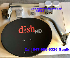 DISH NETWORK 1000.2 WEST 500 PLUS DP SW44 DISHES LNB
