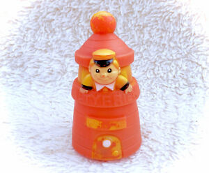 Vintage Tommee Tippee Salty Friend Rubber Lighthouse Figure Toy