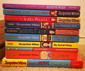 Books~ Jacqueline Wilson, David Walliams, Cathy Cassidy, Shannon Hale