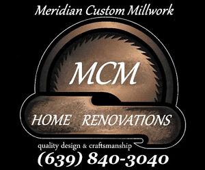 MCM Home Renovations & Custom Cabinetry! Accepting new clients!!