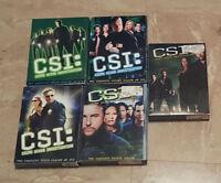 CSI Crime Scene Investigation Box Sets - Season 1-2-3-4-5 City of Montréal Greater Montréal Preview