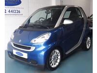 2008 58 SMART FORTWO 1.0 PASSION 2D AUTO 70 BHP