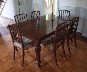 Mahogany 15 pc Dining Room Set