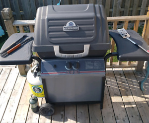 STERLING Gas BBQ with Heavy Duty Cover