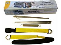 Caravan Awning Tie Down Straps Black Awning Storm Straps Up And Over The Top Design