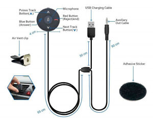 Brand new Aux to Bluetooth 4.1 Car Kit with 2 years warranty