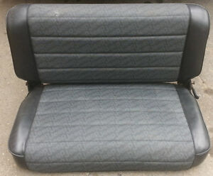 Older Jeep Bench seat No Rips