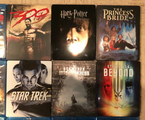 Blu-Rays, Steelbooks, Star Trek, Mr. Robot, Star Wars, Vikings