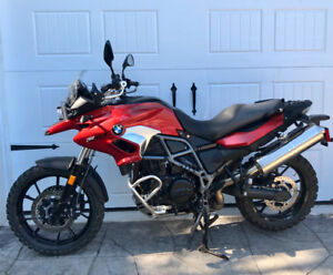 2016 BMW F700GS  -  like new