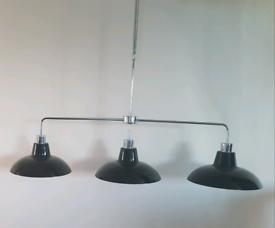 Triple over counter light
