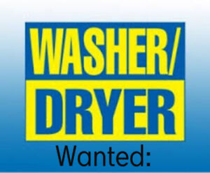 In Need of Free Washer and Dryer