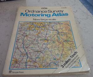 Ordnance Survey Motoring Atlas of Great Britain, 1983 Kitchener / Waterloo Kitchener Area image 1
