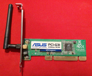 ASUS PCI-G31 PCI 802.11g wifi router