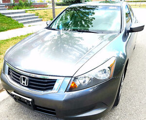 2009 Honda accord EX auto. accident free, Certified