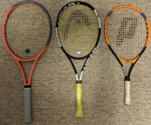 FS: 3 diff Tennis Racquets (Adult and Junior)