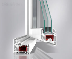 Triple pane LowE European Tilt&Turn windows in stock