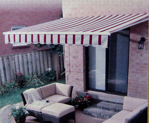 """""""For Living"""" Manual Patio Awning - 10' x 8' - new"""