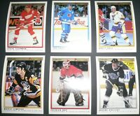 1990-91 O-Pee-Chee Premier Hockey Cards Complete Set #1-132 Mint