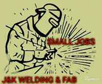Small Jobs Welding Fabrication and Repairs