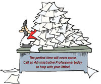 Typing, Spreadsheets & Administrative/Clerical Services