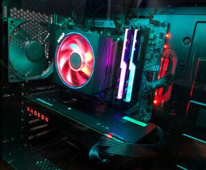 Custom Computer Ryzen 7 2700x 1TB SSD 16GB RAM AMD Vega 64