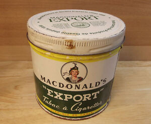 Canne de tabac Macdonald's Export