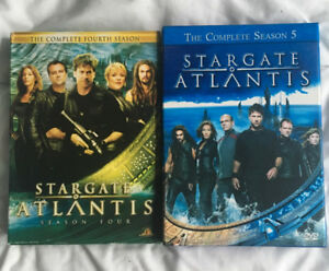 Stargate Atlantis DVD Season 4 & 5