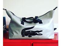 Vintage Lacoste large bag