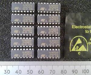 Qty-10-ULN2004A-ULN2004-7-Way-Darlington-Transistor-Buffer-Driver-Array-DIP-IC