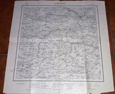 Map Geographical Map Military Army Military Map 1932 Tarvisio 1:100000
