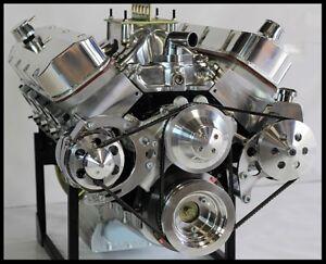 CHEVY BBC 454 468 HIGH TORQUE TURN KEY ENGINE, NEW DART BIG M BLOCK, 600 hp