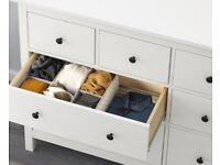 IKEA Hemnes White Chest of Drawers 160x96cm
