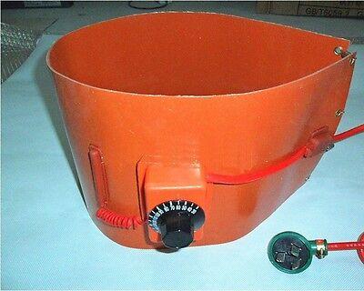 110v 1740mm125mm Drum Heater Oil Biodiesel Silicon Band Plastic Metal Barrel